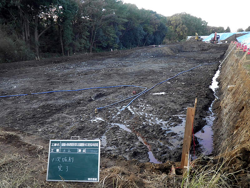 鎌ヶ谷貯留槽工事