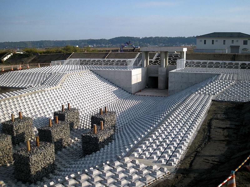 印旛沼 樋管工事